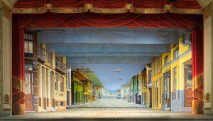 Fredrikshalds teater scene