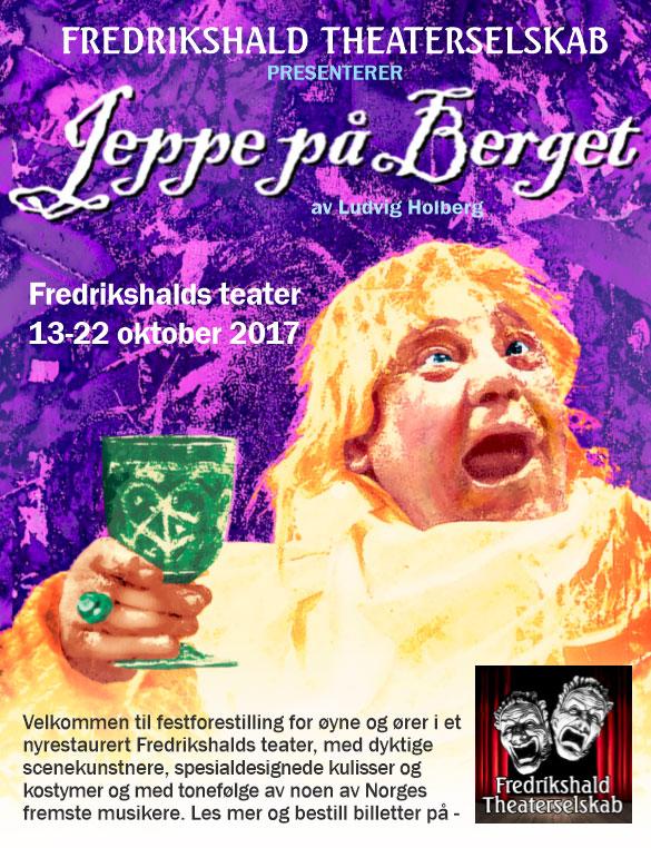 Plakateksempel for Jeppe på Berget