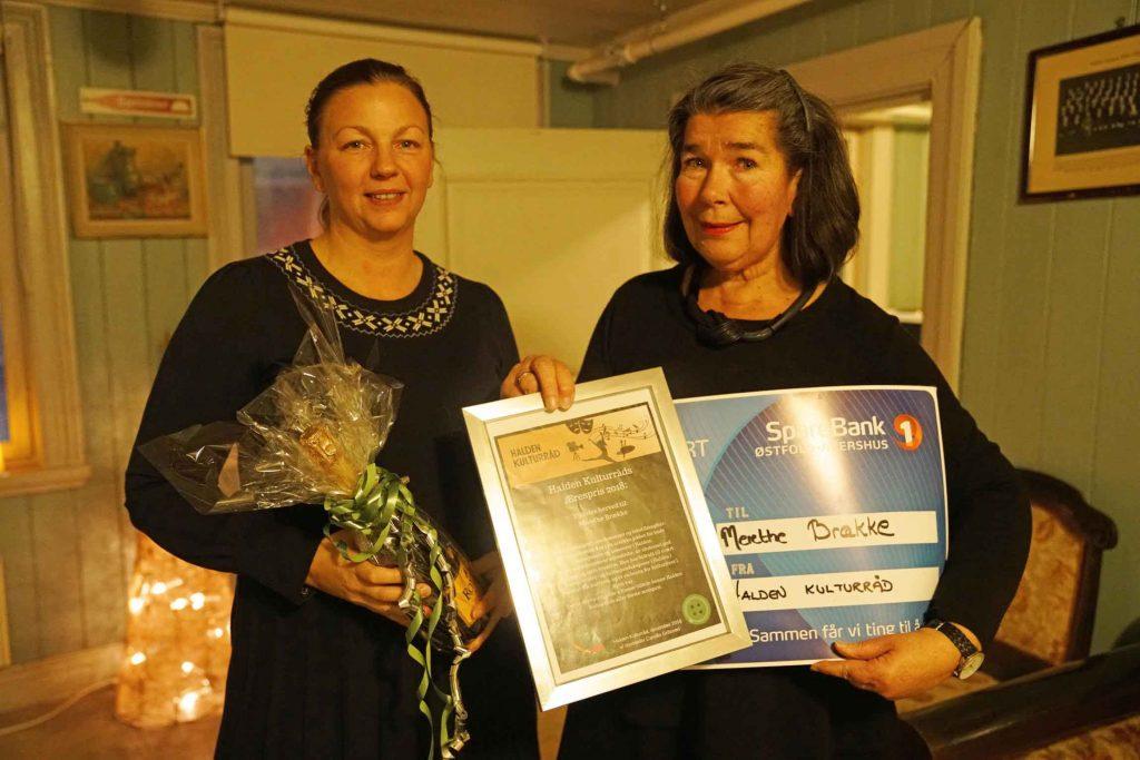 Merethe Braekke fikk prisen